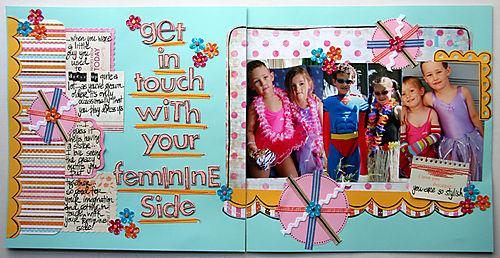 June Double Up - Feminine side