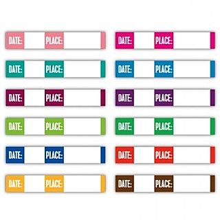 ES Date and Place strips brights