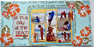September Double Up - At the Beach image