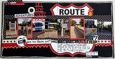 October Double Up - On The Road Again image