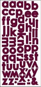SEI Poppy alpha stickers