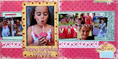 Happy Birthday Cupcake image