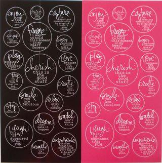 Heidi Swapp verb stickers