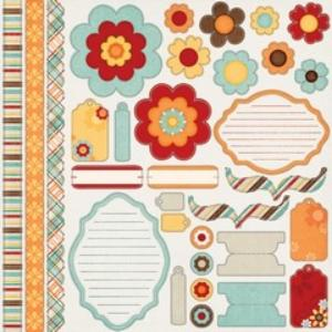 My Minds Eye sunshine accessory sheet