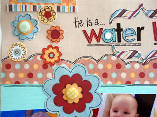 March Double Up - Water Baby close 1