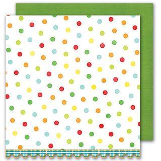 Sassafras Bungle Jungle Dots paper