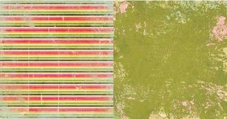 Collage Press Sweet Shoppe Fruity Twists paper