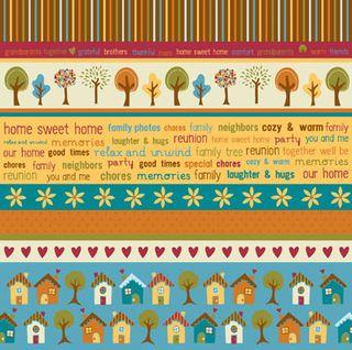 Ki Family Time Multi Stripe paper