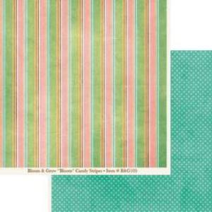 My Minds Eye Candy Stripes paper