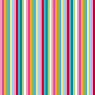 Ki Girly Girl Pop Simple Stripe