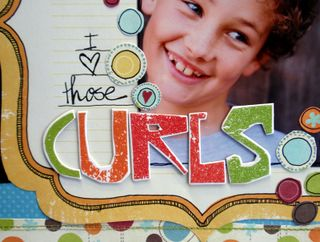 July DU - I Love Those Curls close 1