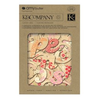 K&Co Lotus Tea Box Chipboard Alpha