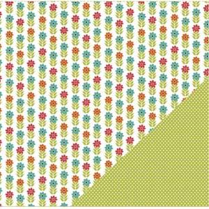3 Bugs Simple Pleasures green polka