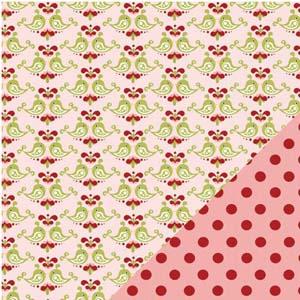 3 Bugs Love Birds red spot