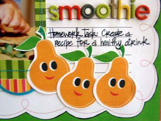 Fruit Smoothie close 1