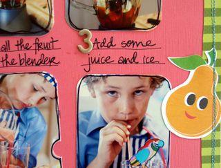 Fruit Smoothie close 2