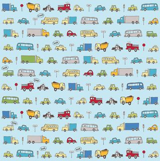 Ki Little Guy Traffic Jam Paper