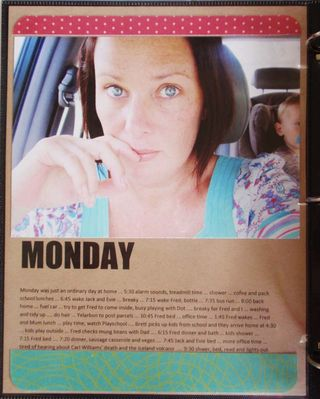 Week In The Life Day 1a