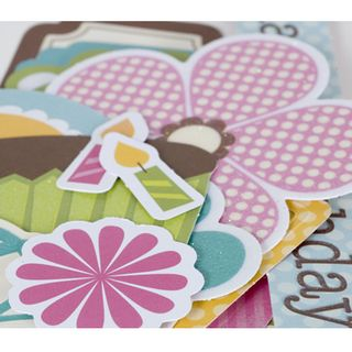 SEI happy day die cut accents