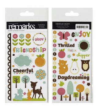 AC Cheerful REmarks stickers