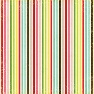 EP Christmas Bright STripe paper