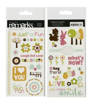AC Smiles REmarks Stickers