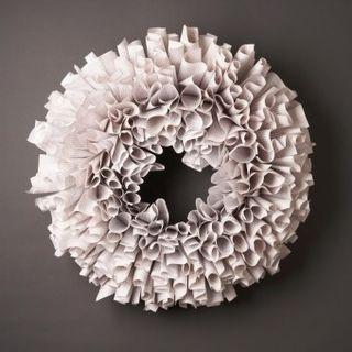 Paper-wreath