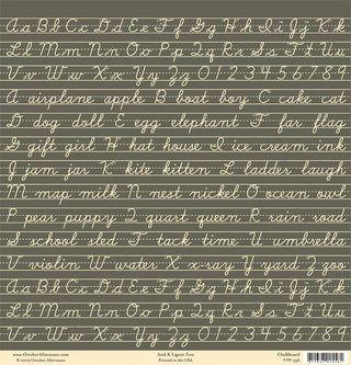 OA Schoolhouse Chalkboard paper