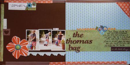 Sept 11 DU - The Thomas Bag