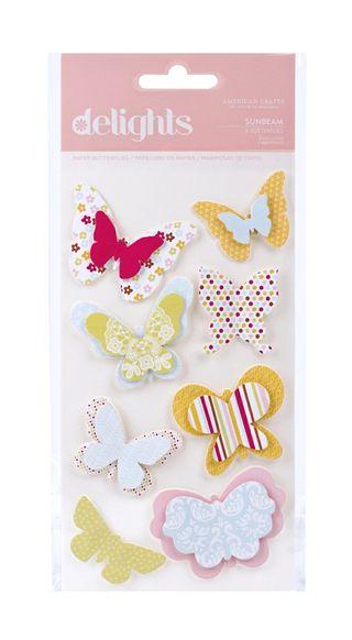 AC Hello Sunshine butterflies