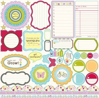 JS Blossom soup die cut shapes