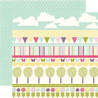 EP Springtime Border Strips paper