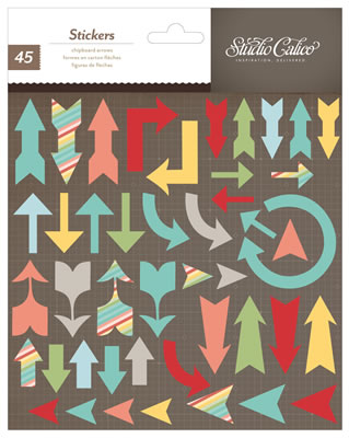 SC Chipboard Arrows