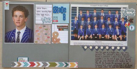 March 14 - Grade 8